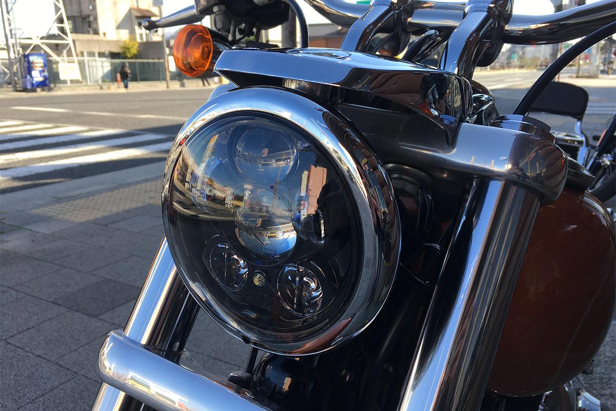 ローライダー LEDヘッドライト