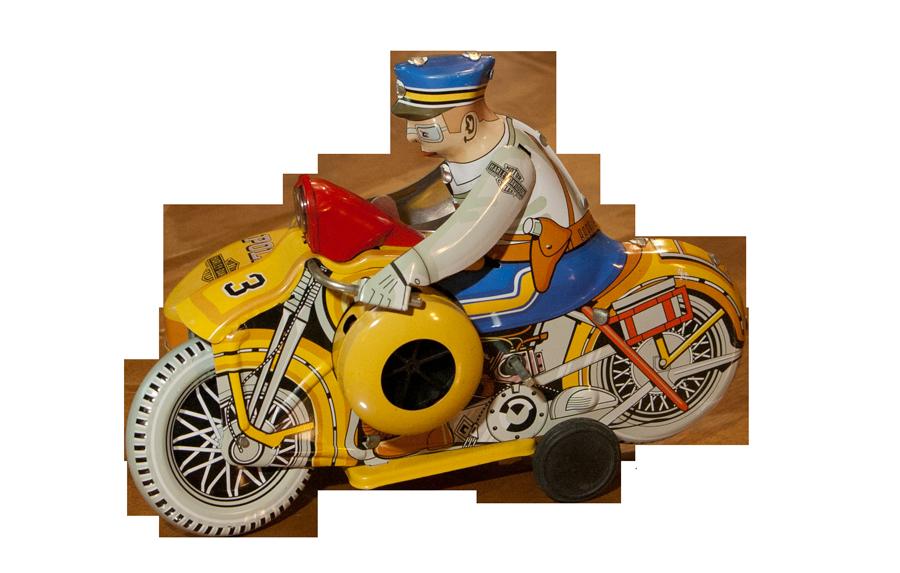 vintage harley toy