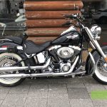 "<font style=""font-size:90%;"">2008年 FLSTN Softail Deluxe<br><font style=""font-size:50%;"">車両本体価格:</font>129<font style=""font-size:50%;"">万円</font> / <font style=""font-size:50%;"">走行距離:</font>658<font style=""font-size:50%;"">km</font></font><font style=""color:red;font-size:80%;"">sold out</font>"