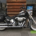 """<font style=""""font-size:90%;"""">2005年 FLSTN Softail Deluxe<br><font style=""""font-size:50%;"""">車両本体価格:</font>99<font style=""""font-size:50%;"""">万円(税込み)</font> / <font style=""""font-size:50%;"""">走行距離:</font>20,996<font style=""""font-size:50%;"""">km</font></font><font style=""""color:red;font-size:80%;"""">sold out</font>"""