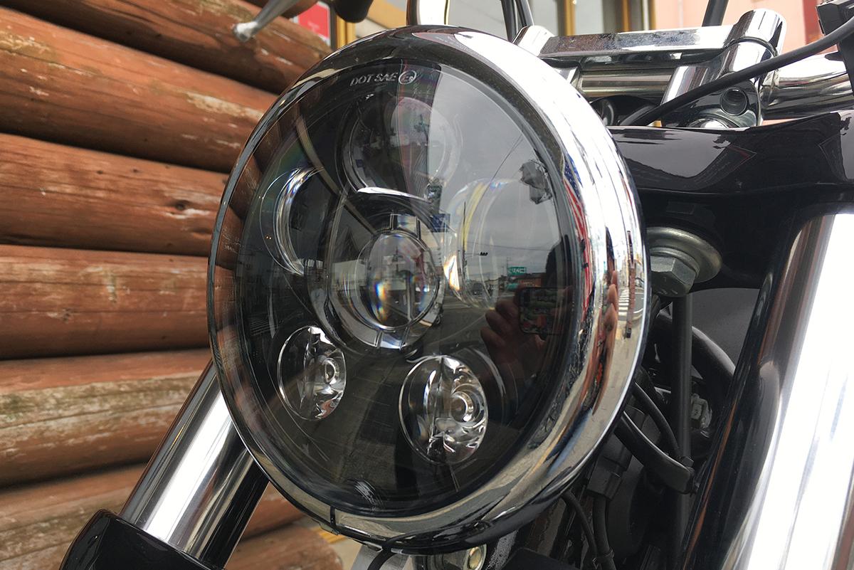 FXDB LEDヘッドライト
