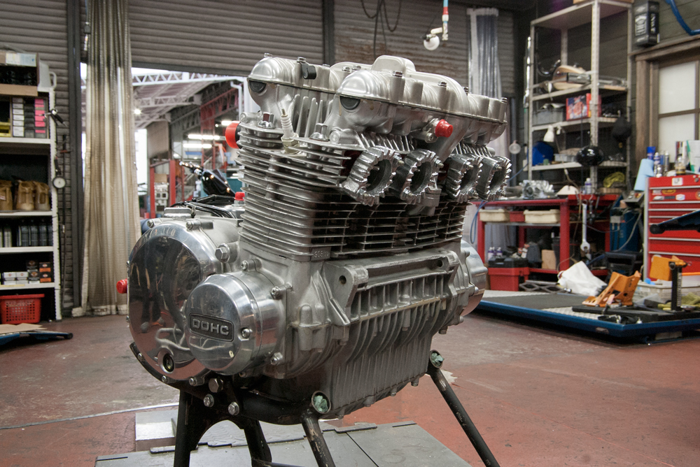 kawasaki Z1 デッドストックエンジン