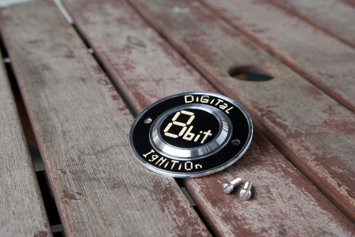 ハーレーダビッドソン 8bit デジタルイグニッションポイントカバー