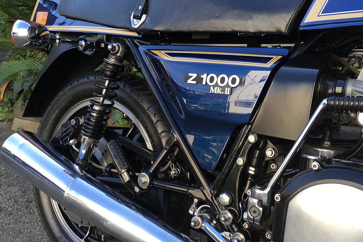 Z1000MK2 サイドカバー