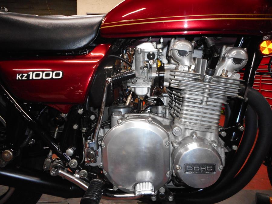 KZ1000 engine