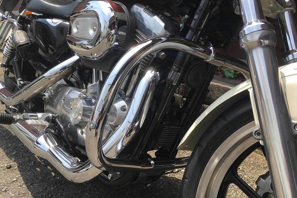 XL883L エンジンガード