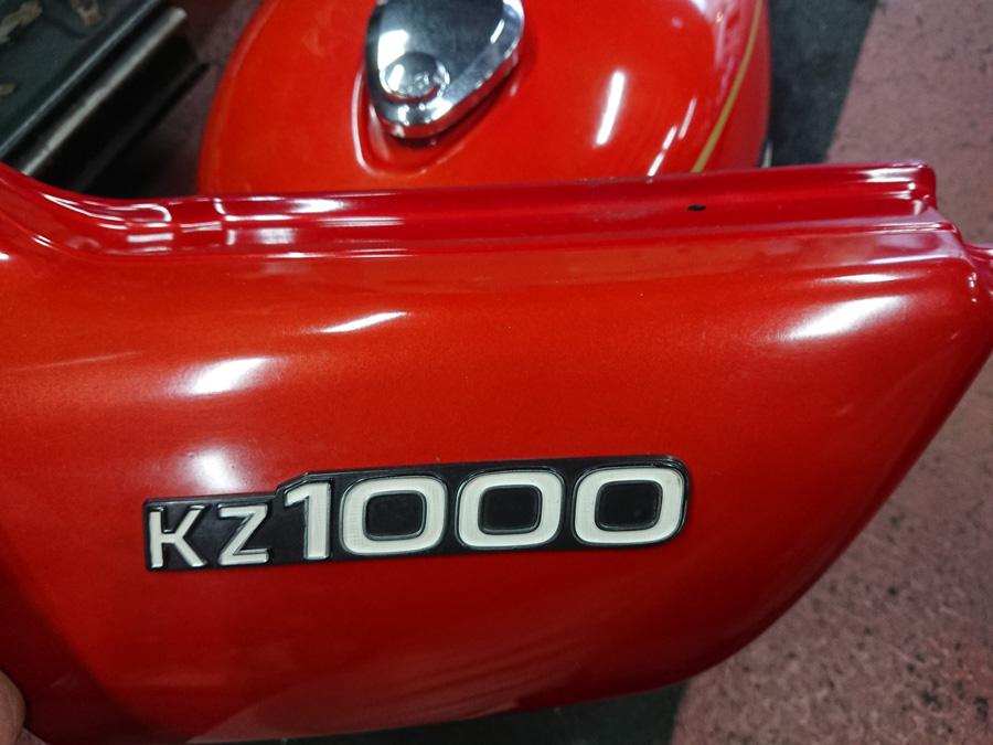 カワサキ KZ1000A2 オリジナルペイント