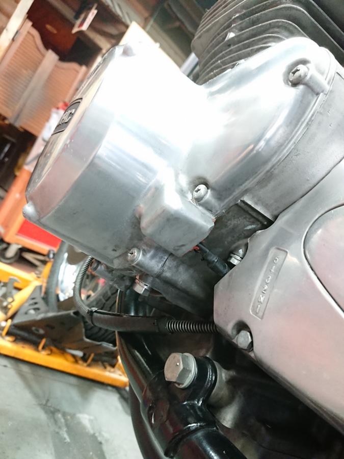 KZ1000A2 エンジン底部