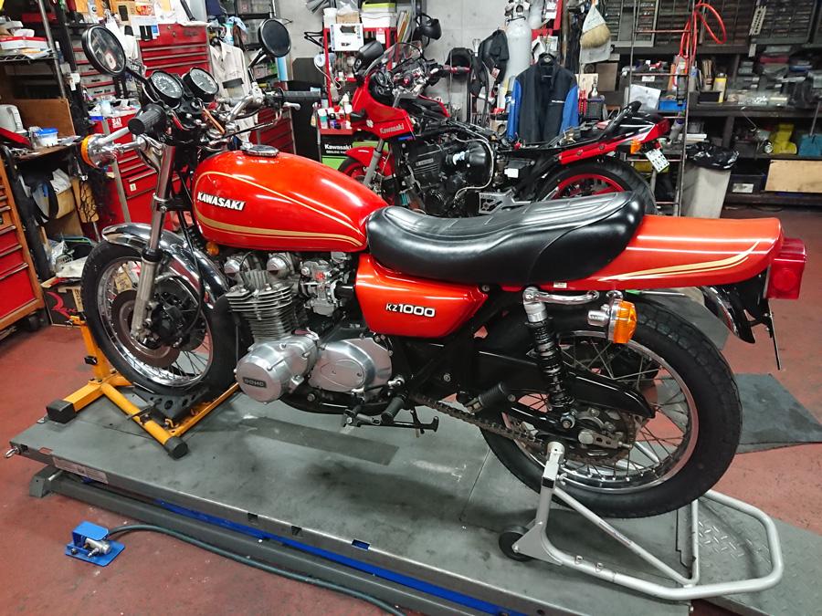 1978年 kawasaki KZ1000A2